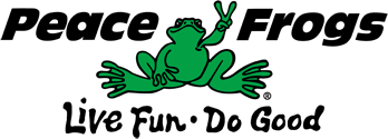Peace Frogs - Positively Peaceful Comfort Clothing