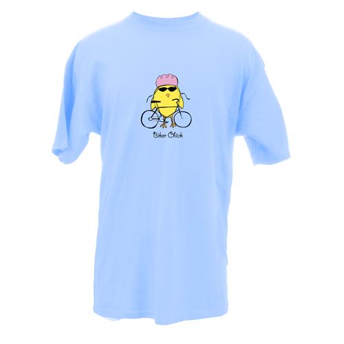 Beyond The Pond Adult Biker Chick Short Sleeve T-Shirt