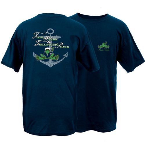 Peace Frogs Fair Winds Frog Short Sleeve T-Shirt