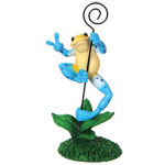 Peace Frogs Frog Photo Holder