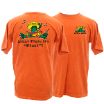 Peace Frogs Adult Uncle Pedro Frog Short Sleeve T-Shirt