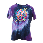 Peace Frogs Ladies Peace Girl Tie Dyed Short Sleeve T-Shirt