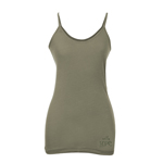 Peace Frogs Hope Frog Organic Spaghetti Strap Tank Top
