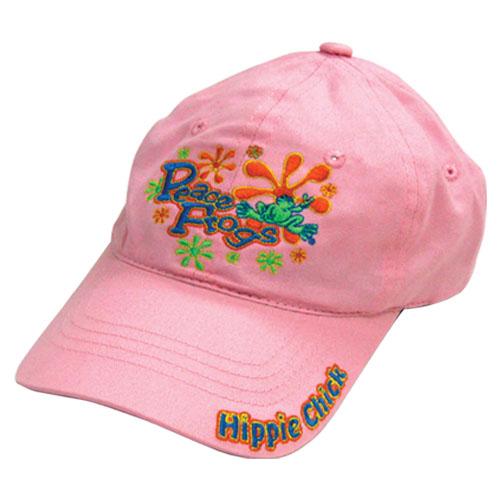 Hippie Chick Frog Hat