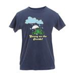 Peace Frogs Ladies Umbrella Garment Dye Short Sleeve T-Shirt