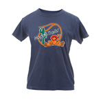 Peace Frogs Ladies Hoppy Trails Garment Dye Short Sleeve T-Shirt