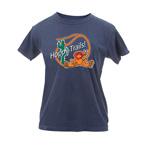 Peace Frogs Ladies Hoppy Trails Garment Dye Short Sleeve T-Shirt