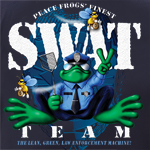 Peace Frogs SWAT Team Short Sleeve Kids T-Shirt