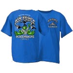 Peace Frogs Air Force Short Sleeve Kids T-Shirt