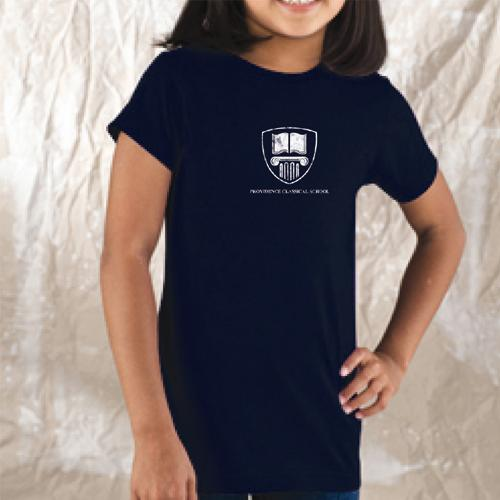 Girls Providence Classical Shield Longer Length T-Shirt