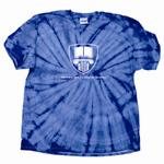 Youth Providence Classical Shield Spider Tie Dye Short Sleeve T-Shirt