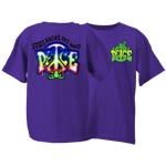 Peace Frogs Spread the Peace Short Sleeve Kids T-Shirt