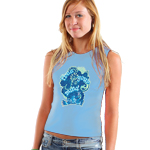 Peace Frogs Junior Free Your Mind Tank Top