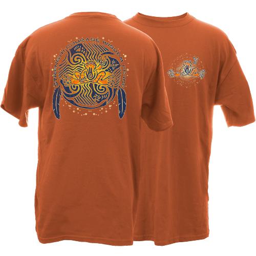 Peace Frogs Adult Native Garment Dye Short Sleeve T-Shirt