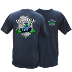 Peace Frogs Adult Police Short Sleeve T-Shirt