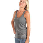 Peace Frogs One Love Burnout Tank
