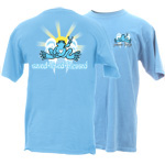 Peace Frogs Adult Saved, Loved, Blessed Short Sleeve T-Shirt