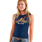 Peace Frogs Junior Retro Tank Top