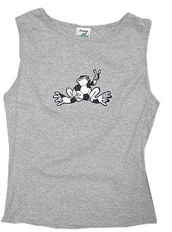 Peace Frogs Junior Soccer Tank Top
