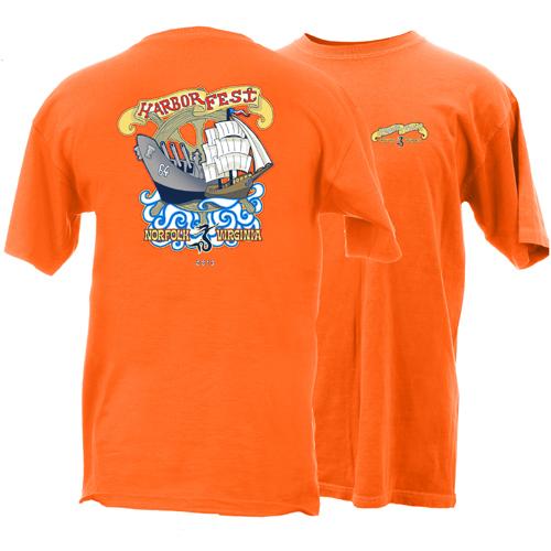 2013 Harborfest Short Sleeve T-Shirt