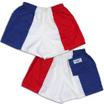 Peace Frogs France Flag Shorts