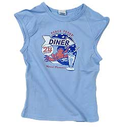 Peace Frogs Junior Diner Frog 95/5 Muscle Tank Top