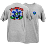 Peace Frogs Adult EMS Short Sleeve T-Shirt