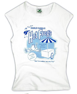 Peace Frogs Junior Hot Frogs 95/5 Muscle Tank Top