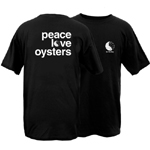 Peace Love Oysters Be the Bay Short Sleeve T-Shirt