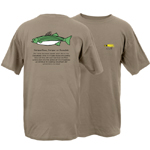 Rock Fish Be the Bay Garment Dye Short Sleeve T-Shirt