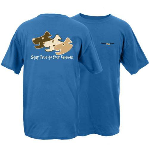 Stay True Peace Dogs Short Sleeve Garment Dye T-Shirt