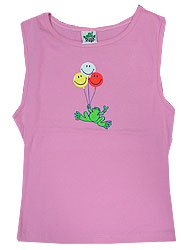 Peace Frogs Junior Smiley Balloon Frog Tank Top