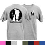 Fallen Soldiers March Logo Adult Short Sleeve T-Shirt