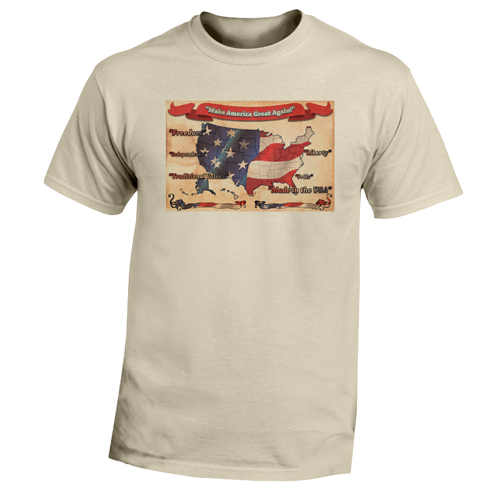 Beyond The Pond Adult Make America Great Again Short Sleeve T-Shirt