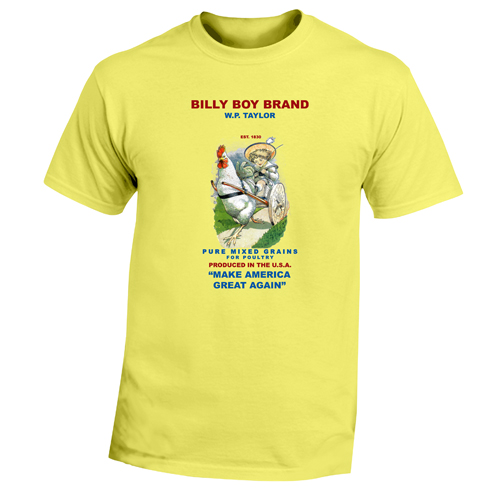 Beyond The Pond Adult Billy Boy Short Sleeve T-Shirt