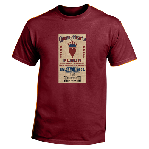 Beyond The Pond Adult Queen of Hearts Short Sleeve T-Shirt