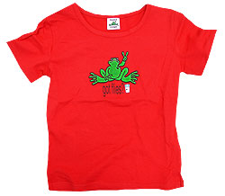 Peace Frogs Junior Milk 95/5 Cap Sleeve T-Shirt