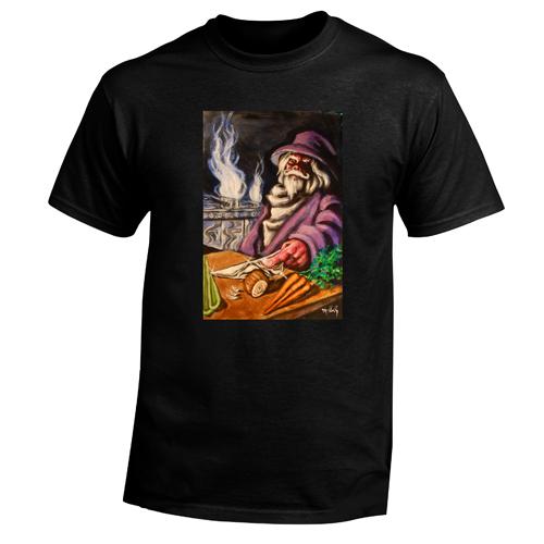 Beyond The Pond Adulat Chef Wizard Short Sleeve T-Shirt