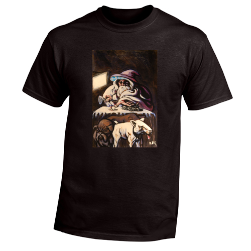 Beyond The Pond Adult Veterinarian Wizard Short Sleeve T-Shirt