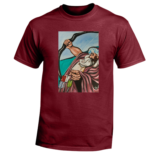 Beyond The Pond Adult Archer Wizard Short Sleeve T-Shirt