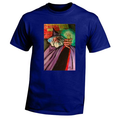 Beyond The Pond Adult Chemist Wizard Short Sleeve T-Shirt