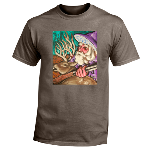 Beyond The Pond Adult Hunter Wizard Short Sleeve T-Shirt