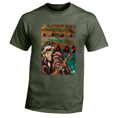 Beyond The Pond Adult Marksman Wizard Short Sleeve T-Shirt
