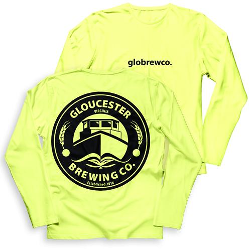Gloucester Brewing Co Garment Dye Long Sleeve T-Shirt