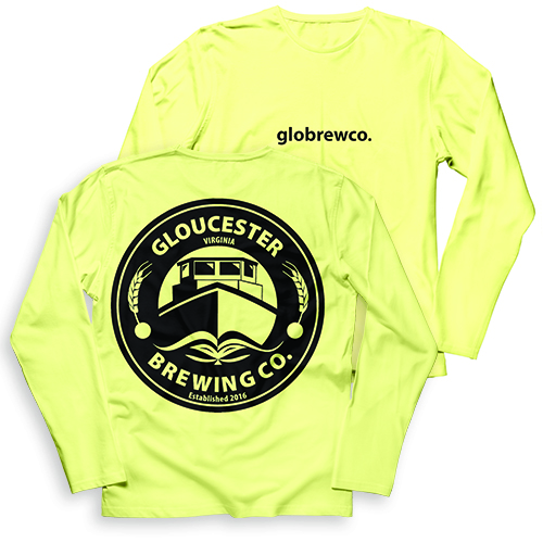 Gloucester Brewing Co Garment Dye Long Sleeve T-Shirt