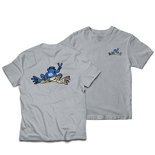 Peace Frogs Adult Moon Frog T-Shirt
