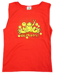 Peace Frogs Junior Be Hoppy Frog Tank Top