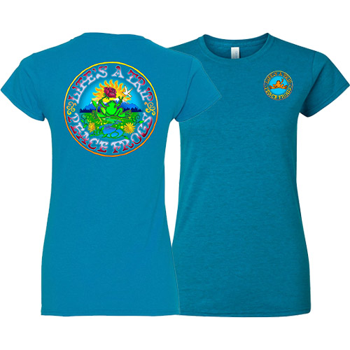 Peace Frogs Ladies Life's a Trip Short Sleeve T-Shirt