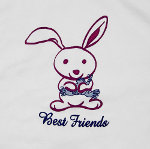 Peace Frogs Junior Best Friends Tank Top