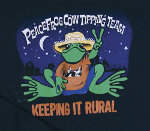 Peace Frogs Junior Cow Tippin Long Sleeve T-Shirt